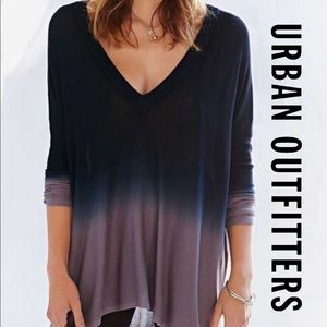 Pins & Needles x UO Ombré Low V Tunic